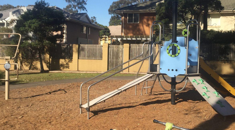 Playground to townhouse